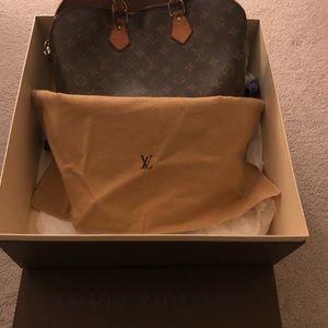 Louis Vuitton Alma Bag. Vintage, box and dust bag.